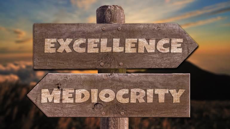 Stop alla mediocrità, prendi in mano la tua vita, ora.